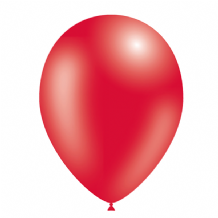 "Red 5 inch Balloons - Decotex 5"" Balloons 100pcs"